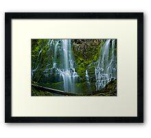 Proxy Falls 2 Framed Print