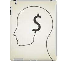 Dollar a head iPad Case/Skin