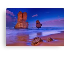 """In The Company Of Apostles"" Canvas Print"