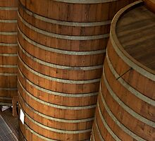 Aging Vats, Sterling Winery, Napa, California by Brendon Perkins