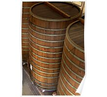Aging Vats, Sterling Winery, Napa, California Poster