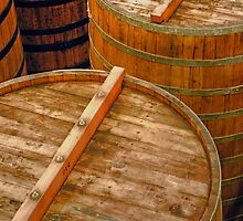 Aging Vats, Sterling Winery, Napa Valley, California by Brendon Perkins
