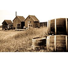 Tinted Barrels Photographic Print