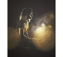 A heart of gold and boots to match (Harry Styles) Photographic Print
