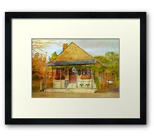 The Knife Shop - Hahndorf, The Adelaide Hills, SA Framed Print