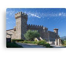 Castello di Amorosa, Napa Valley, California Canvas Print