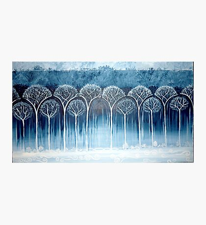 Secret of Kells forest  Photographic Print