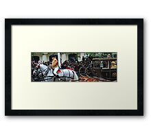 Carriage for the Queen Framed Print