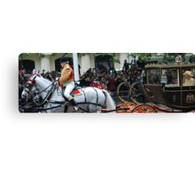 Carriage for the Queen Canvas Print