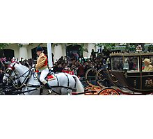 Carriage for the Queen Photographic Print