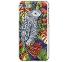 Grey Parrot iPhone Case/Skin