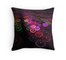 Candy Dishes Throw Pillow