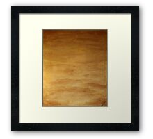 The Shroud of the River Pueblo Mesa Framed Print