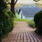 country brick road by ANNABEL   S. ALENTON