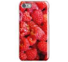 RED RASPBERRIES - IPHONE CASE iPhone Case/Skin