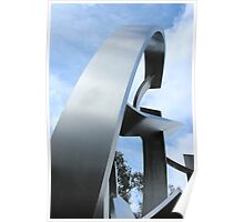 Metal Sculpture Poster