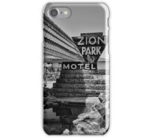 Zion Park Motel  iPhone Case/Skin