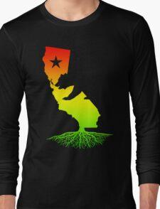 California Roots (rasta surfer colors) Long Sleeve T-Shirt