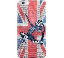 London Yoga iPhone Case/Skin