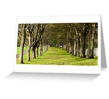 Avenue Greeting Card
