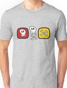 Cartoon Skulls and Bones T-Shirt