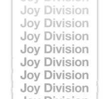 Joy Division Joy Division Joy Division Sticker