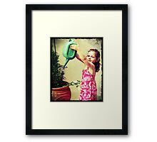 Mary, Mary...... Framed Print