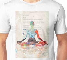 Atlantida Yoga Book Unisex T-Shirt