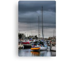 Stormy morning - Barra Canvas Print