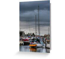 Stormy morning - Barra Greeting Card
