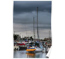 Stormy morning - Barra Poster