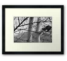 The Act Of Leaving Framed Print