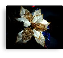 Christmas flora... Canvas Print