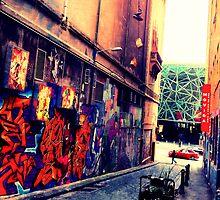 Tattooed Laneway, Melbourne by sebastian