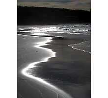 Silvery Sands Photographic Print