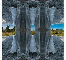 Fort Stevens Bike Trail.Oregon,USA. Photographic Print