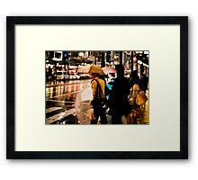The Street Corner Framed Print