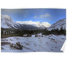 Elbow Pass valley VIII Poster