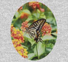 Swallowtail Butterfly One Piece - Short Sleeve
