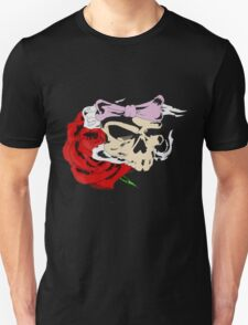 Ribbon Skull Unisex T-Shirt
