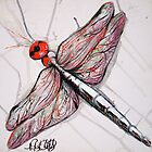 Dragonfly by whittyart