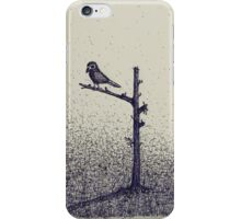 bird on a stick iPhone Case/Skin