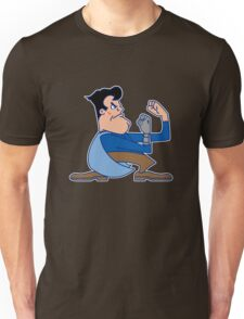 Fighting Ash vs. the Army of Darkness T-Shirt