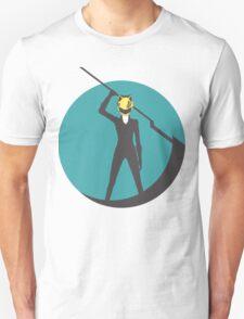 Celty Durarara Silhouette Illustration T-Shirt