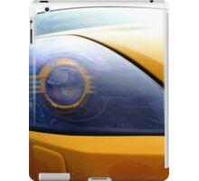 The Eye Of A Transformer iPad Case/Skin