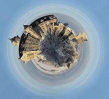 winter castle by Kestrelle
