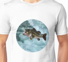 TAKE ME TO THE RIVER..FISH BLOWING BUBBLES.JOURNAL..PILLOWS,TOTE BAGS,SPIRAL BOOKS ECT... Unisex T-Shirt