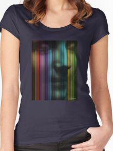 Unknown Haunted Woman Women's Fitted Scoop T-Shirt