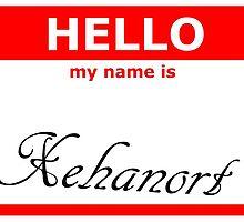 Xehanort nametag by kawaiivildesign