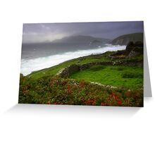 The Irish Coast Greeting Card